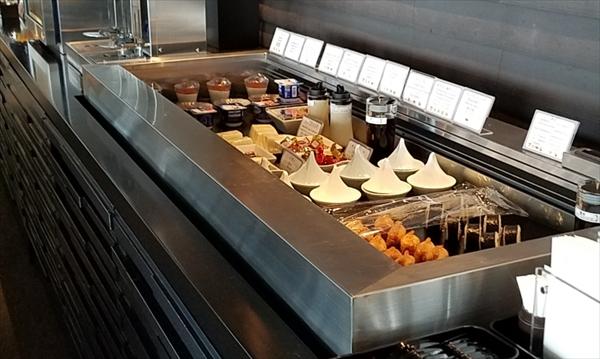 関西国際空港のKIX airside loungeの食べ物